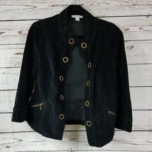 Dress Barn Corduroy Jacket